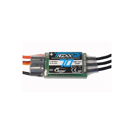 CONTROLEUR TRIXX PRO 70A SBEC 5,5V/6A 2-6 ELEMENTS LI-PO / 6-16 Ni-Mh RC SYSTEM