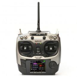Radio AT9 - 9 voies - Mode 1 - émetteur seul