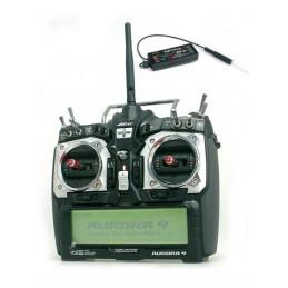 Radio AURORA 9 AFHSS 2,4GHz + OPTIMA 7 Voies : 44.037A